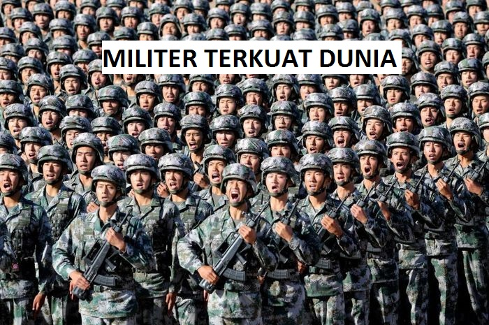 Daftar Negara Dengan Kekuatan Militer Terkuat di Dunia